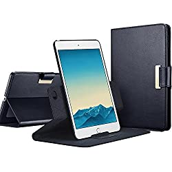 iPad Pro 9.7 Case, iPad Pro 9.7 inch Case, ESR 360 Degree Rotating Folio Stand Case with Auto Wake/Sleep Function [Business Style Case] for Apple iPad Pro 9.7 inch 2016_Navy Blue,ESR,Tablet Case,Intelligent Series,iPad Pro 9.7,Navy Blue