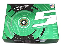 2 Dozen NEW Bridgestone e5 High Flight 12 Golf Balls 2015 - White