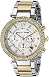 MICHAEL KORS PARKER TWO-TONE WOMEN'S DIAMONDS STAINLESS STEEL CASE UHR MK5626