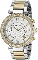 Michael Kors Women's MK5626 Parker Two-Tone Stainless Steel Watch