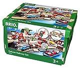 Brio 33052 - Straßen und Schienen Set Deluxe