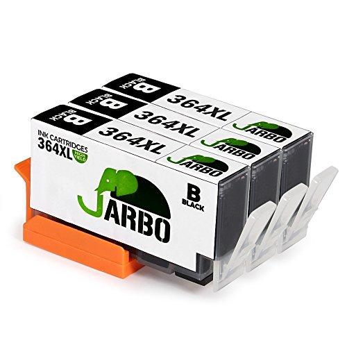 jarbo remplacer pour hp 364 xl cartouche d 39 encre 3 noir grande capacit compatible avec hp. Black Bedroom Furniture Sets. Home Design Ideas