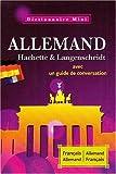 echange, troc Wolfgang Löffler, Kristin Wäeterloos - Dictionnaire Mini Français-Allemand Allemand-Français