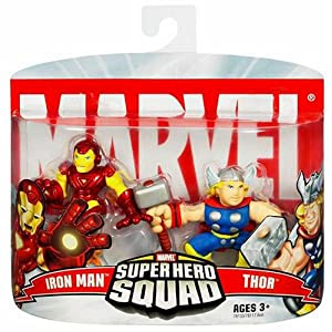 Marvel Super Hero Squad ? Iron Man and Thor
