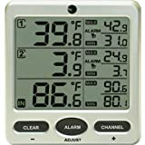 Amazon.com: indoor outdoor - Outdoor Thermometers / Thermometers & Weather Instruments: Patio, Lawn & Garden