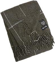 LinenMe Emilio Alpaca Wool Throw Grey