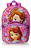 Fast Forward Little Girls'  Princess Sofia Backpack with Lunch Box