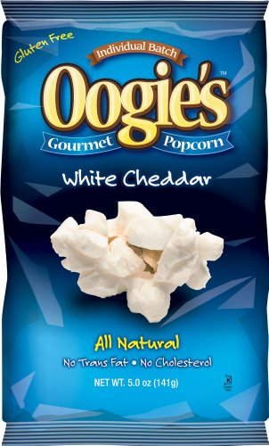 Oogie's Gourmet Popcorn, White Cheddar, 5-Ounce Bags (Pack of 15) (Oogie Popcorn compare prices)