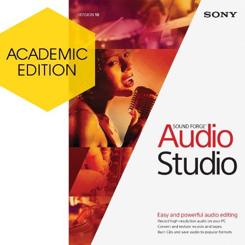Sony Sound Forge Audio Studio 10 - Academic Version [Download]