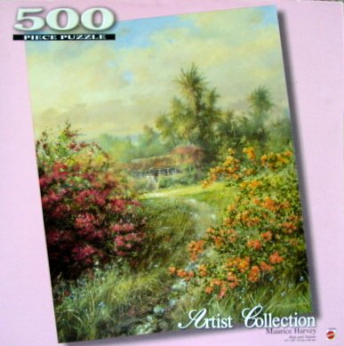 "500pc. Artist Collection Maurice Harvey ""Man and Nature"" Puzzle - 1"