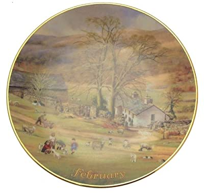 Davenport For All Time February plate Marji Daisley - 6 inch diameter - CP1485