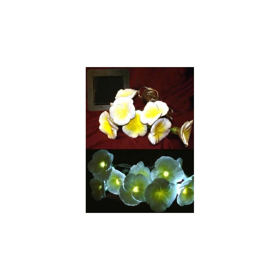 Yellow Daises Flower String Solar Light