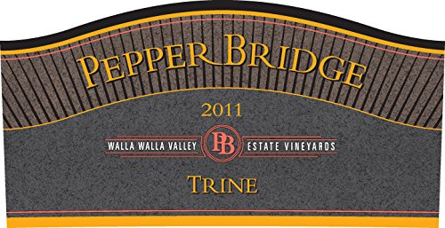 """2011 Pepper Bridge Winery """"Trine"""" Walla Walla Valley Bordeaux Style Red Blend 750 Ml"""