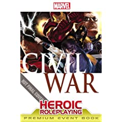 Marvel Heroic Roleplaying: Civil War Event Book Premium by Mike Selinker and Margaret Weis Productions