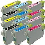 IC6CL50 6色セットx2 12個セット EPSON(エプソン)対応 高品質互換インクカートリッジ ICチップ付残量表示機能対応(JAN:4571498428585 )