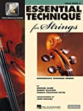 Essential Technique for Strings - Cello: (Essential Elements Book 3) (Intermediate Technique Studies)
