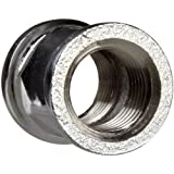 Chrome Plated Brass Pipe Fitting, Coupling , 1/2