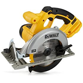 Bare-Tool DEWALT DC390B 18-Volt Cordless Circular Saw (Tool Only, No Battery)