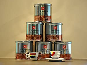 Choose Illy Coffee Iperespresso Costa Rica - Set 6 cans of 21 capsules each from Illy
