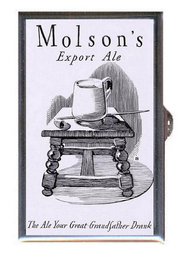 1938-molsons-export-ale-beer-great-retro-ad-guitar-pick-or-pill-box-usa-made
