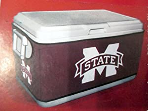 Buy Mississippi State Bulldogs Cooler Cover Medium Neoprene Stretch Fit NCAA Logo by Football Fanatics