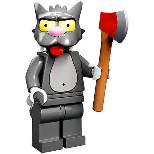 Lego 71005 The Simpson Series Scratchy Simpson Character Minifigures - 1