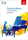 img - for Teaching Notes on Piano Exam Pieces 2013 & 2014, ABRSM Grades 17 (ABRSM Exam Pieces) book / textbook / text book