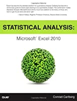 Statistical Analysis: Microsoft Excel 2010 ebook download