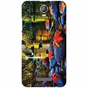 Printland Back Cover For Micromax Canvas Juice 2 - Silicon Wao Designer Cases