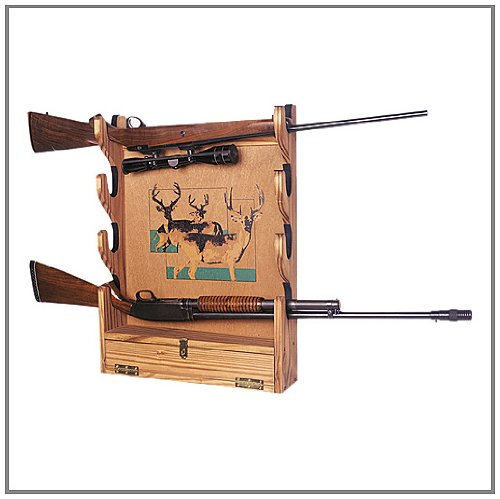 ... Your Own GUN RACK Wall Mounted San Angeo Style Pattern DIY PLANS