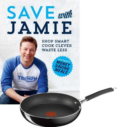 save-with-jamie-shop-smart-cook-clever-waste-less-hardcover-tefal-jamie-oliver-hard-enamel-frying-pa
