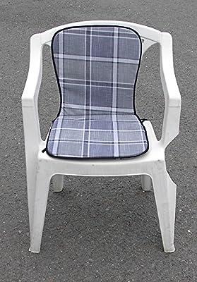 Stapelstuhl- Monoblock- Auflage / Polster Sitzkissen Sitzauflage 74 x 38 x 2 cm von Testrut bei Gartenmöbel von Du und Dein Garten