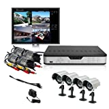 ZMODO 4CH CCTV Security Outdoor Camera DVR System 500GB