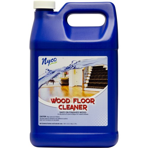 Nyco Products Nl90472 Wood Floor Cleaner, 1 Gallon Bottle (Case Of 4) front-84375