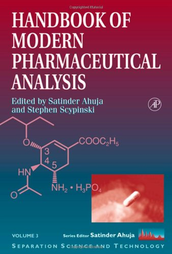 Handbook Of Modern Pharmaceutical Analysis, Volume 3 (Separation Science And Technology) front-582803