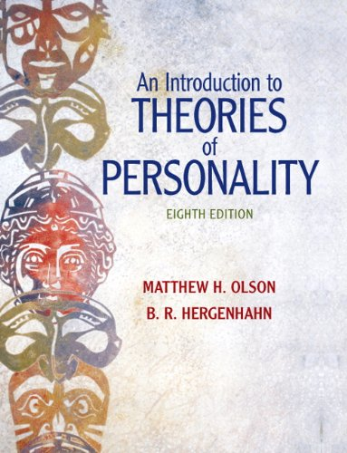 An Introduction to Theories of Personality, 8th Edition (Theory Of Personality 8th Edition compare prices)