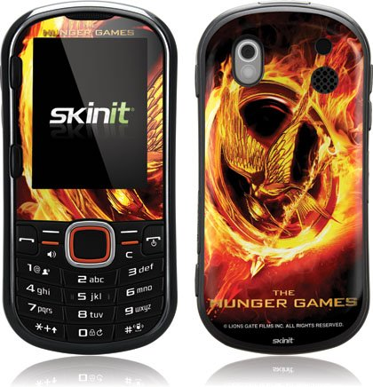 Skinit The Hunger Games Logo Vinyl Skin for Samsung Intensity II SCH-U460
