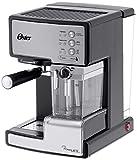 Oster-BVSTEM6601S-050-Prima-Latte-Machine--Espresso-avec-Mousseur--Lait-Inox-15-Bars