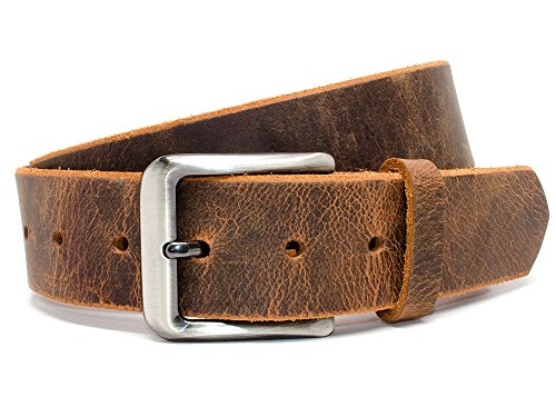 "Nickel Free Roan Mountain Distressed Belt (34"")"