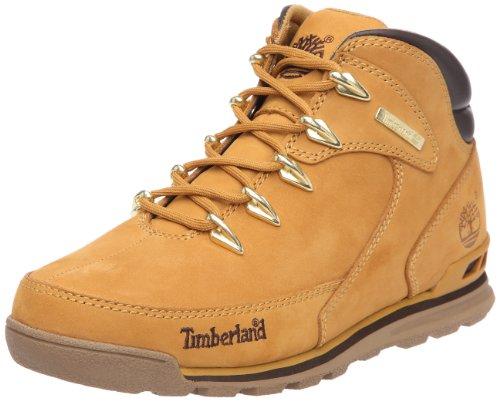 Timberland Earthkeepers Euro Rock Hiker, Stivali Uomo, Marrone (Wheat NubuckWheat Nubuck), 42 EU