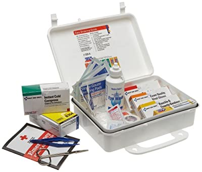 First Aid Only Vehicle Bulk First Aid Kit, 94-Piece Kit by First Aid Only