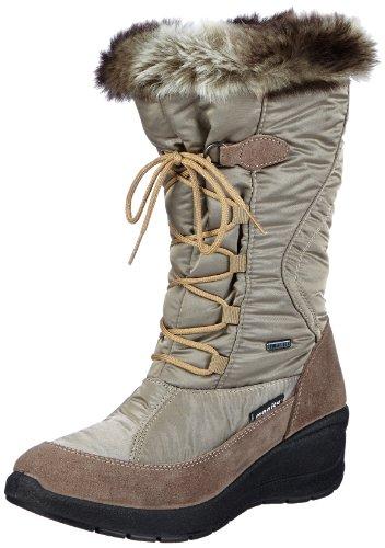 Manitu Womens 990628 Snow Boots Beige Beige (taupe 8) Size: 41