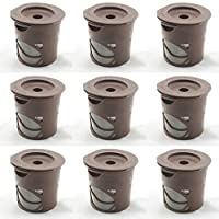 CASSICAT 9 x Solo Coffee Pod Filters Compatible with All 1.0 Keurig K cup coffee system--Reusable Coffee Filter
