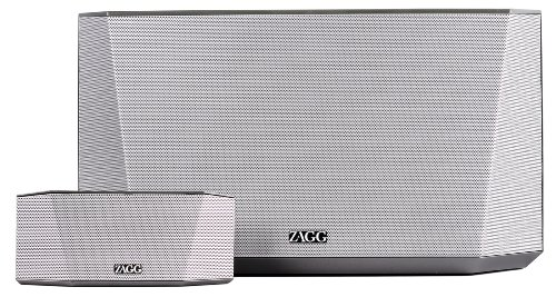 Zagg Zmbx01Slvgry Origin Bluetooth Speaker - Retail Packaging - Silver/Gray