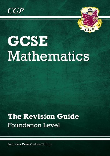 GCSE Maths Revision Guide (with Online Edition) - Foundation