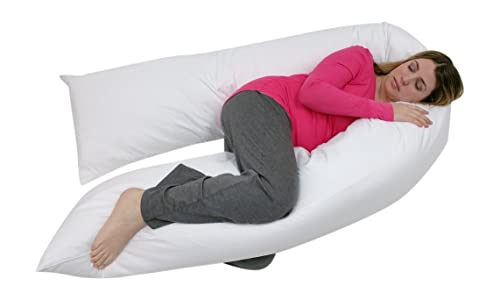 Junior Size - Total Body Pregnancy Maternity Pillow- Full Support - Exclusively By Blowout Bedding RN# 142035
