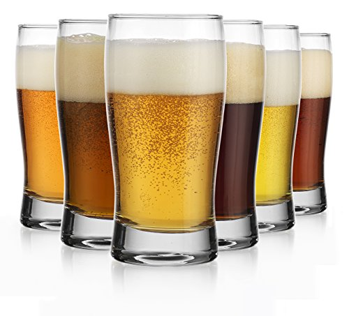 Oktoberfest Set of Six (6) Beer Glass Pilsners Beer Sampler Beer Tasters (Small Beer Glasses compare prices)