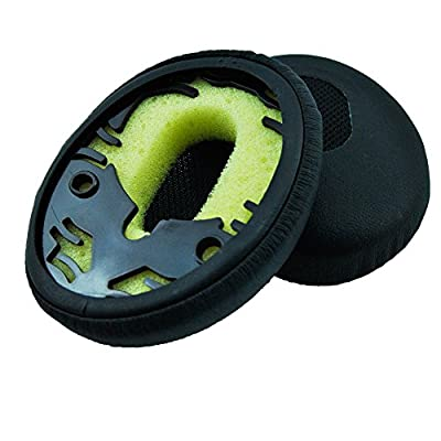 Yiding 1 Pair 2pcs Replacement Ear Pads Earpad Cups for Qc3 Quietcomfort 3 Qc 3 on Ear