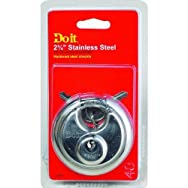 Master Lock 1870DDIB Do it Shrouded Padlock-ROUND DISCUS PADLOCK