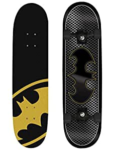 Batman Kids Skateboard - Black/Yellow, 79x20cm